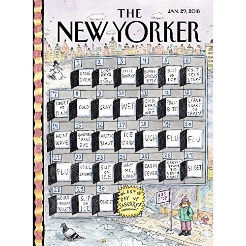 The New Yorker, January 29th 2018 (Kathryn Schulz, Nick Paumgarten, Peter Schjeldahl) audiobook cover art