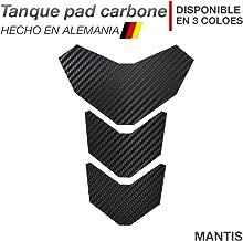Motoking tanque pad compatible ETIQUETAS 3D-ETIQUETA AFRICA TWIN ESTILO AZUL Y ROJO tanque de la motocicleta y la protecci/ón de la pintura universal