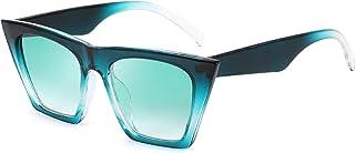 Vintage Square Cat Eye Sunglasses Women Trendy Cateye Sunglasses B2473