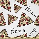 ABAKUHAUS Pizza Stoff als Meterware,