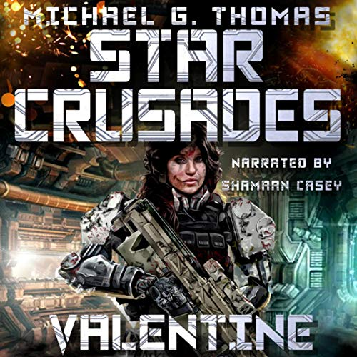 Star Crusades: Valentine audiobook cover art