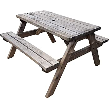 Westwood Outdoor Wood Wooden Vintage Folding Beer Table
