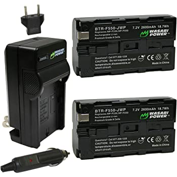 2600mAh, 7.2V, Li-Ion Replacement Battery /& Charger Set for Sony MPK-DVF4 Digital Camera