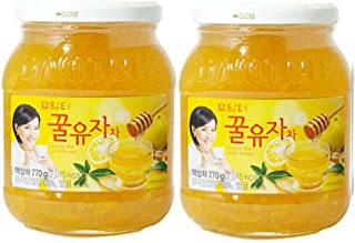 DAMTUH Korean Honey Citron Tea, Citron Tea with Honey, 27.16 Oz (770g) x 2 Bottles