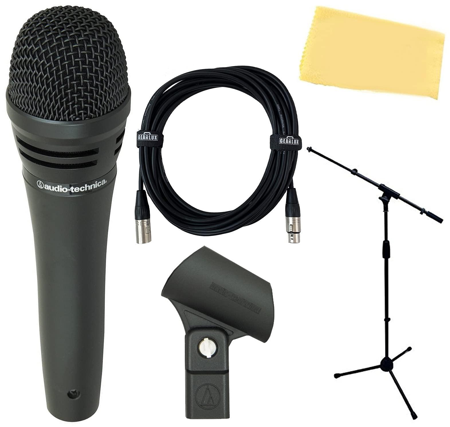 Microfono Audio-Technica M8000 Dynamic Bundle with Gearlux M