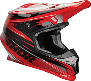 Thor Sector Warp Motocross Helm Rot XXL 63/64