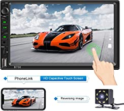 Double Din Car Stereo with Bluetooth 7 Inch Capacitive Touch Screen Car Stereo with..