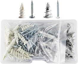 Ankerpunt 100 metalen en nylon zelf-diamant gipsplaat zinklegering gipsum bord ankerschroeven Makkelijk in gebruik en duur...