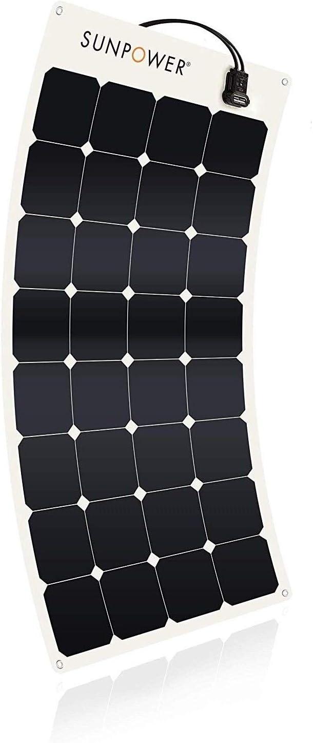 SunPower 110 Watt Flexible Solar Panel