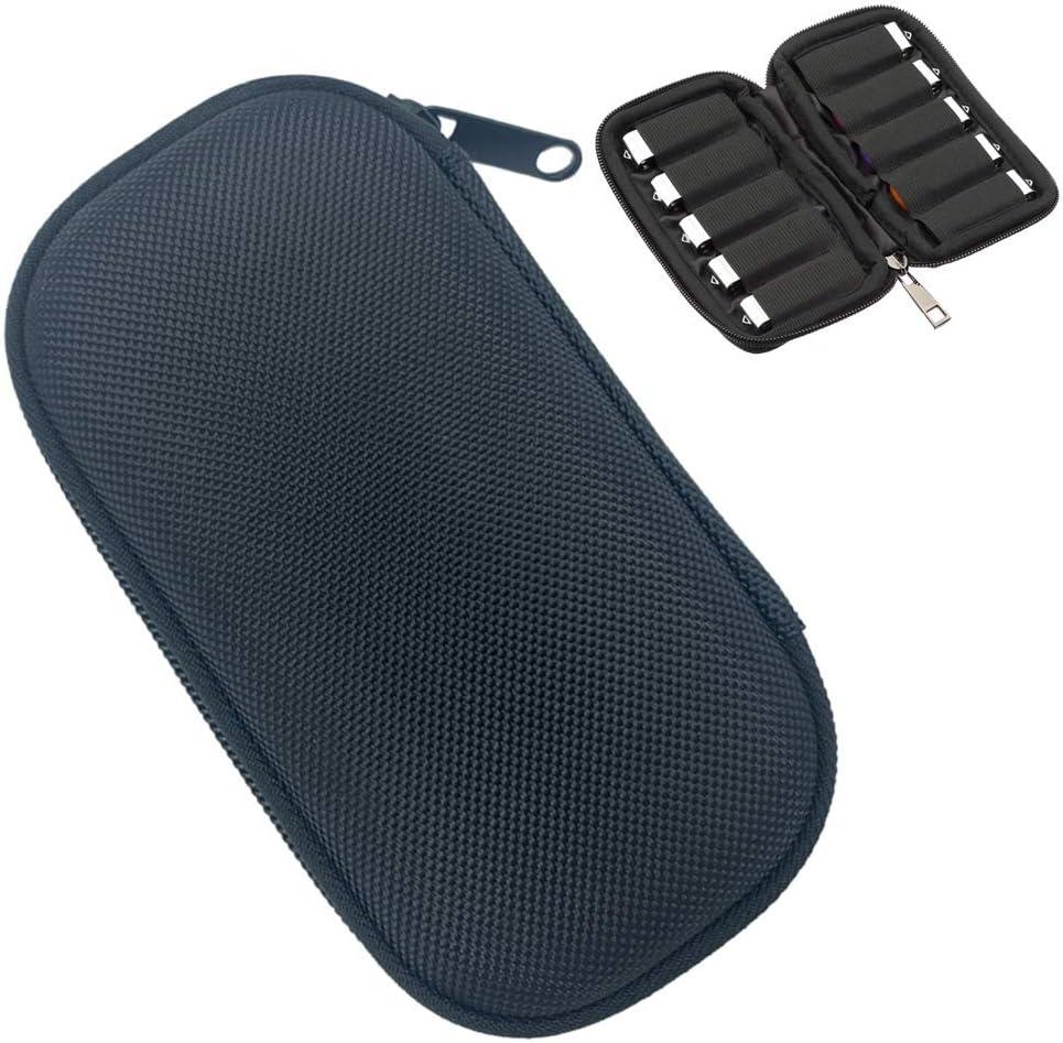 USB Flash Drive Case, JBOS EVA Hard Storage Bag Electronic Accessories Organizer Holder for Flash Drive Carry Case for USB Drive/Thumb Drive/Pen Drive/Jump Drive (Black)
