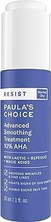 Paula's Choice RESIST Smoothing Treatment 10% AHA Serum, Lactic, Glycolic & Malic Acids, Anti-Aging Exfoliant for Dry Skin, 1 Ounce