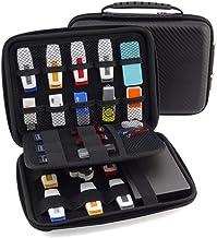 FunYoung USB-Speicherstick Organizer Aufbewahrungs Tasche Case Organizer für USB Sticks SD Speicherkarte Hülle Zubehöre Sa...