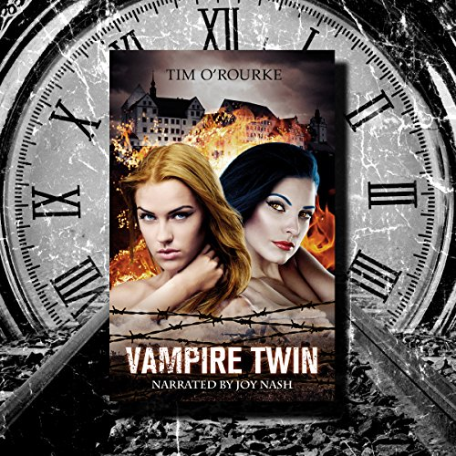 Vampire Twin, Kiera Hudson & Samantha Carter audiobook cover art
