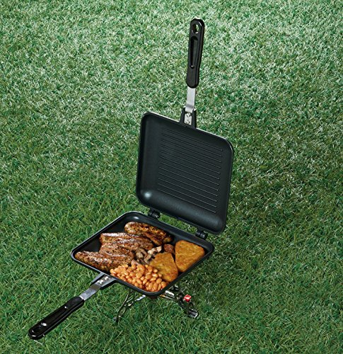 TF Gear Camping Sandwich Toaster Grill, Cooks Toasties, Breakfast and More! Ideal for Fishing 3