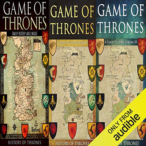 Game of Thrones audiobook cover art