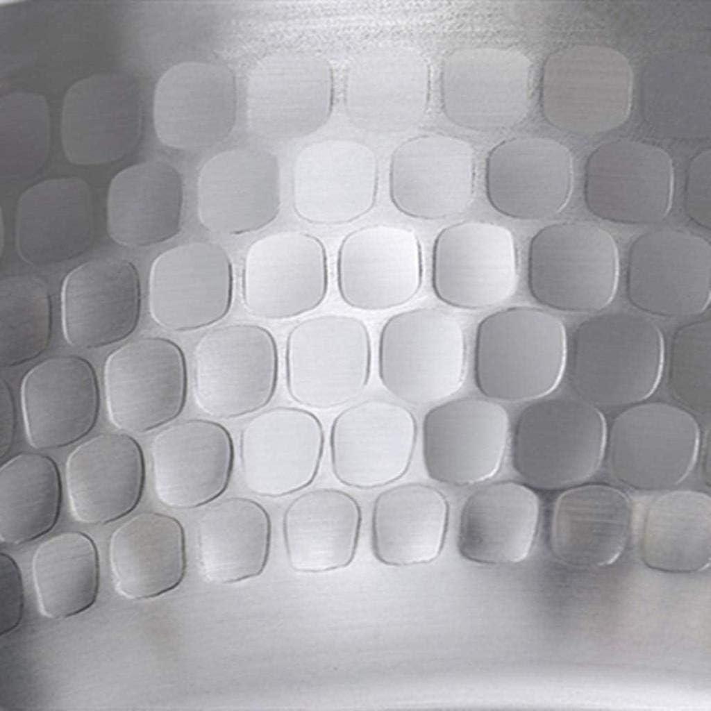 XUHRA Lait Pan Nouilles Instantanées Hot Milk Pot Boiling Pot Petit Antiadhésif Petit Pot De Lait 18 Cm Batterie De Cuisine en Aluminium,Argent,18Cm Argent