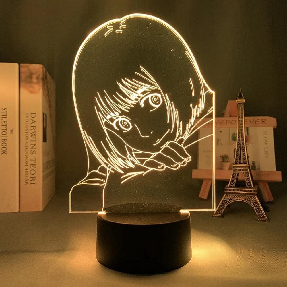 Attack on Rare Titan Japanese Anime Light Illusion Quantity limited LED Lamp Sign 1 3D