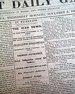 Original & Rare Civil War Era 1861 DAVENPORT IA