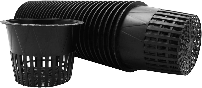 Viagrow V5NET-25 Net Pot, 5 in. 25-Pack, Black