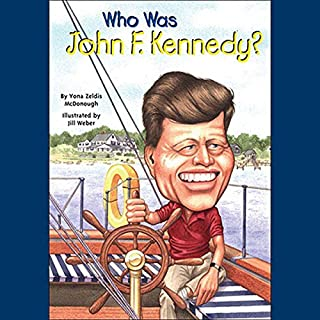 Who Was John F. Kennedy? audiobook cover art