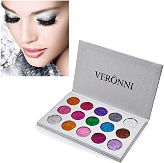 Ywoow Shimmer Glitter Eye Shadow Powder Palettes Matte Eye Shadow Cosmetic Make up US Warehouse Sending