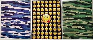 Emoji and Camo Folder Set