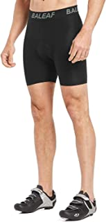 BALEAF Men's Bike Cycling Underwear Shorts 3D Padded Bicycle MTB