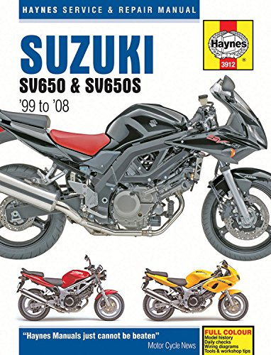 Image OfSuzuki SV650 & SV650S '99 To '08 (Haynes Service & Repair Manual)