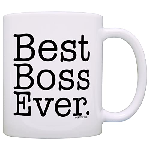 eb5215fe Boss Gifts Best Boss Ever Best Manager Gifts Office Gift Bosses Day Gift  Coffee Mug Tea
