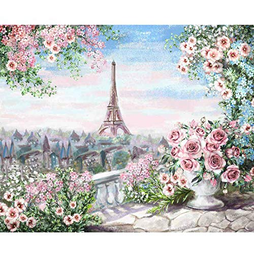 DIY Painting Numbers and Landscape Acrylic Paint Through Numbers for Home Wall Art Picture 50x65cm