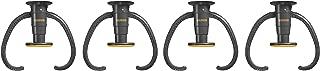 Gladiator GarageWorks GACEXXCPVK Claw Advanced Bike Storage v2.0, Plastic (Pack of 4)