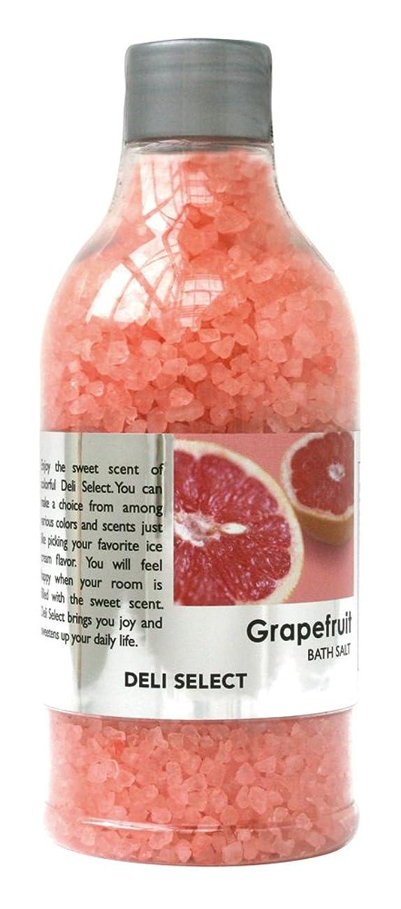 トランクライブラリ著名な科学的デリセレクト バスソルト グレープフルーツ 350g(塩タイプ入浴料)