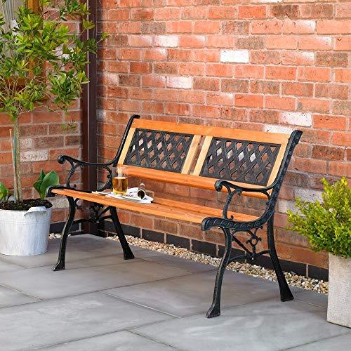 Kingfisher F2PB Houten tuinbank, voor 2 personen