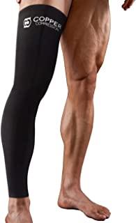 Copper Compression Full Leg Sleeve – Guaranteed Highest Copper Sleeves + Pants...