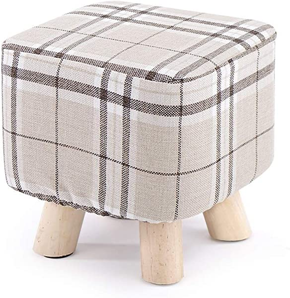 Carl Artbay Wooden Footstool Sofa Children S Baby Cute Animal Solid Wood Home Small Cartoon Small Bench Baby Straps Home Color Beige