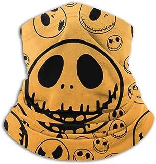 Hujingweijing9 Jack Skellington Headband Face Mask Bandana Head Wrap Scarf Neck Warmer Headwear Balaclava for Sports