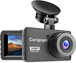 Dash Cam, Carigogo 1080P Full HD Dash Camera for Cars Recorder 3.2