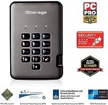 iStorage IS-DAP2-256-500-C-G - Disco Duro cifrado Portable (500 GB) Color Negro