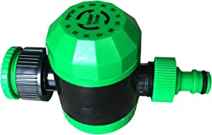 GEZICHTA Mechanical Watering Hose Timer Water Timer Programmable Hose Faucet Timer Watering Digital Timer Outdoor Garden Hose End Automatic Shut Off Mechanical Watering Timer