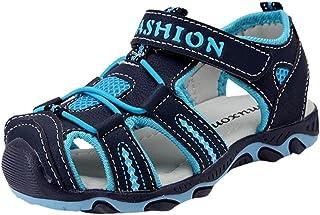 0309ea17 Malloom 3-11 Años Niño Zapatos Niña Niño Cerrado Toe Verano Playa Sandalias  Zapatos Zapatillas
