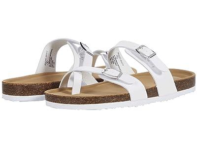 Steve Madden Kids Jbeached (Little Kid/Big Kid) (White) Girls Shoes