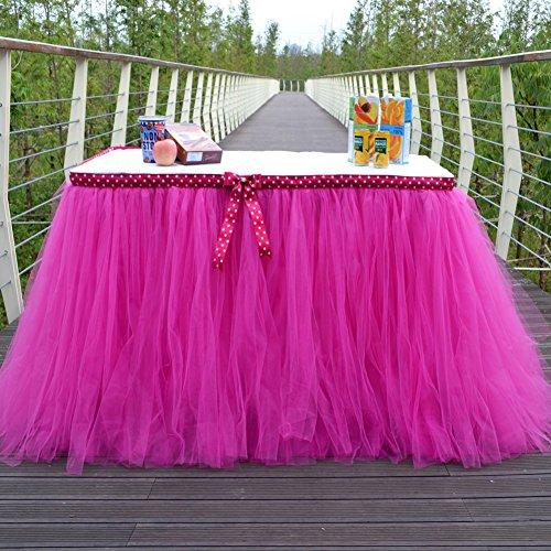 LianLe Tüll Tisch Rock Für Baby Dusche Partei Hochzeits Geburtstag Dekoration