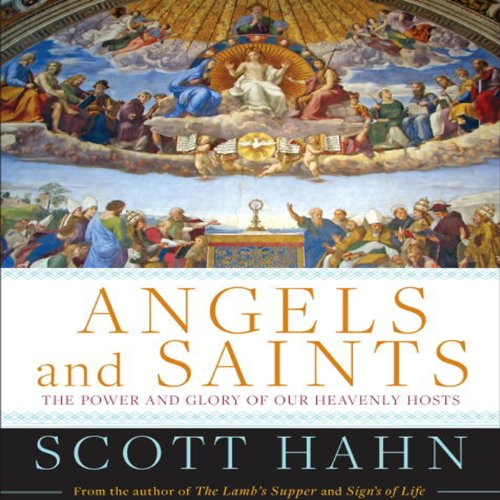 Angels and Saints audiobook cover art