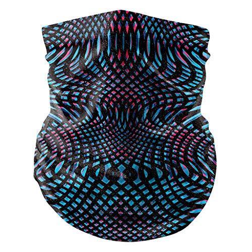Briskorry Damen Mundschutz Halstuch Face Shield Cover Multifunktionstuch GesichtsSommer UV-Schutz Atmungsakti