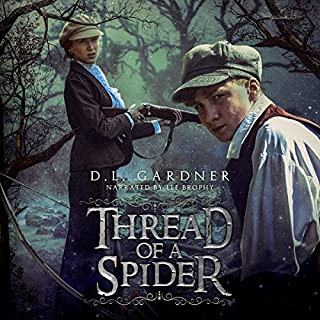 Thread of a Spider audiobook cover art