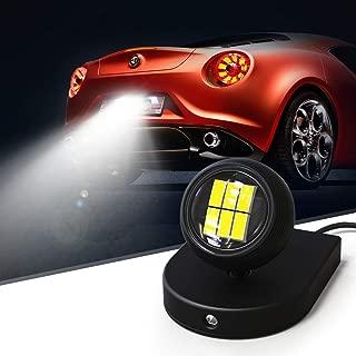 KAFEEK Auxiliary Reverse Light Bulb, Super Bright 3020 6LED Adjustable Illumination Angle Backup Camera Illumination Systemt, Backup Parking LED Light Lamp Enhances Camera Performance at Night