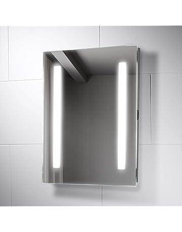 Wall Mounted Vanity Mirrors Home Kitchen Amazon Co Uk