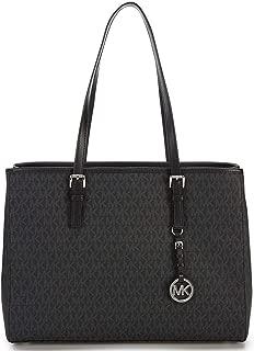 Jet Set Travel EW Large Signature Tote black bag purse handbag MK