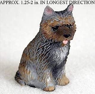 Ky & Co YesKela Cairn Terrier Mini Hand Painted Figurine Brindle