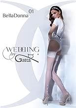 Gatta Wedding Bella Donna 01 - elegante halterlose Strümpfe Hochzeitsstrümpfe